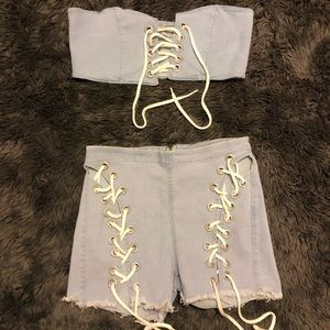 ❄️❄️Lace Up Set❄️❄️
